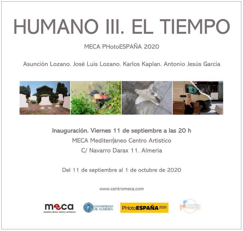 HUMANO III. EL TIEMPO. Del 11 de septiembre al 1 de octubre de 2020