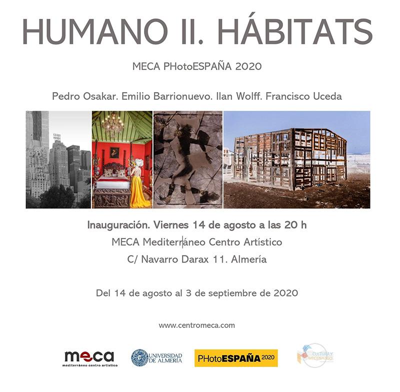HUMANO II. HÁBITATS. Del 14 de agosto al 3 de septiembre de 2020